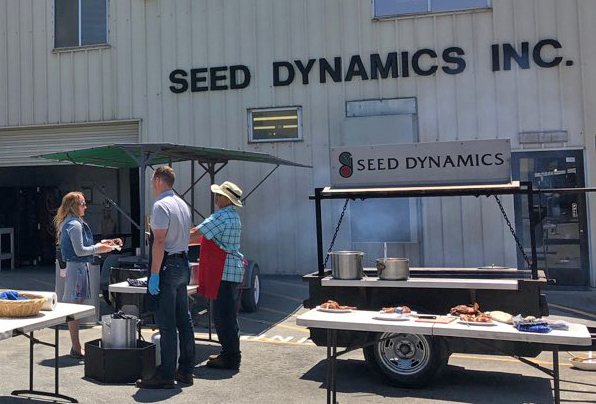Cal Poly Students visit Seed Dynamics